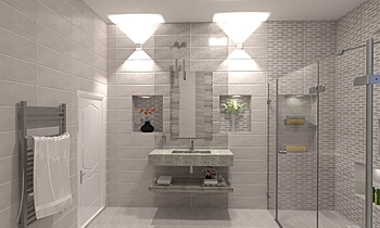 احمد سلامة Classic Bathroom Ahmed homestyle