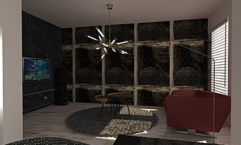 Gurgu_Living room Zeitgenosse Esszimmer Iliana Ovtcharova