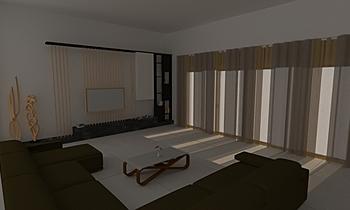 Qutone Drawing Room Classic Living room MANSI PARIKH