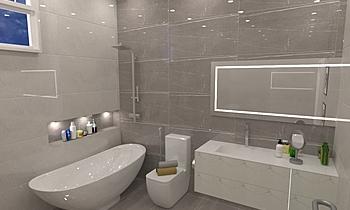 rashed abdala Classic Bathroom ahmed gharib