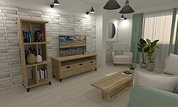 DCC3000 - VALENTIA 03 Modern Living room Grupo DCC3000