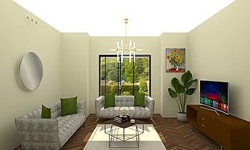 progetto Classic Living room vincenzo ditaranto