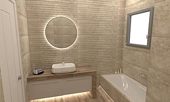 URBAN MPANIO Moderno Baño HOUSE LTD