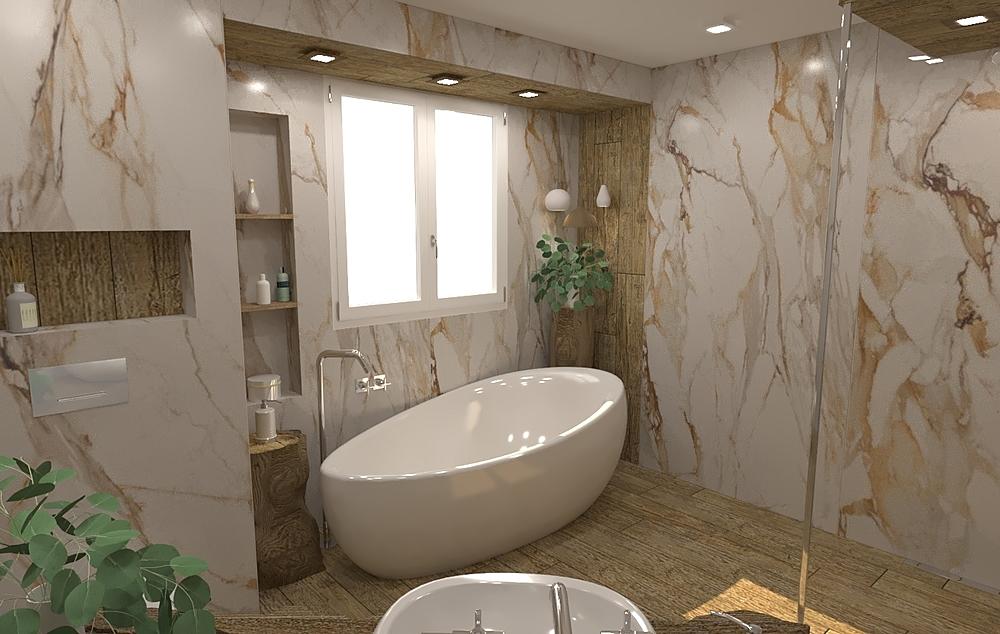Evo Antique ГОЛЯМА Modern Bathroom Vesela Neshkova
