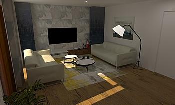 Maida Vale House Contemporary Living room Pera Vera