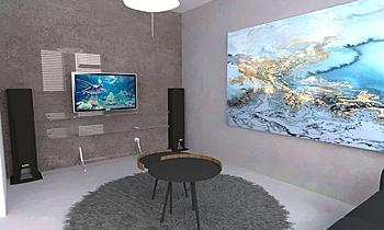 Vayana_Living room Contemporary Dining room Iliana Ovtcharova