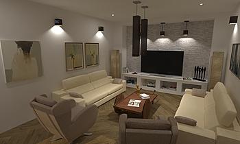 DCC3000 - VALENTIA 09 Modern Living room Grupo DCC3000