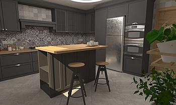 DCC3000 - VALENTIA 08 Modern Kitchen Grupo DCC3000