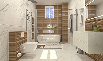 على النعيمى Modern Bathroom Ahmed homestyle