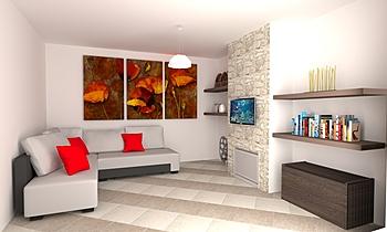 camino Contemporary Living room Demetrio Presto
