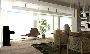casa Modern Living room gm mg