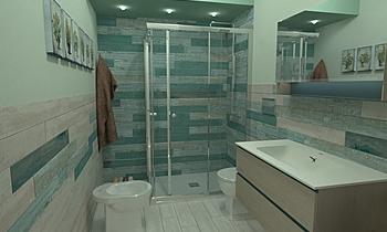 De Stefano Country Bathroom Antonino Stracuzzi