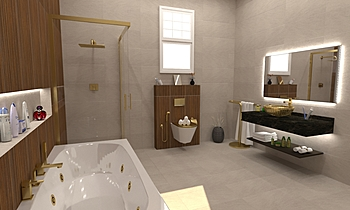 Gharib Modern Bathroom MOHAMED  GHARIB