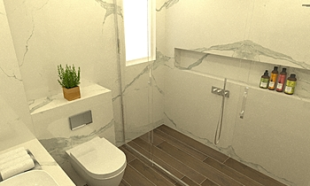 Navander- Karra Bathroom Classic Bathroom Ferreira's Architectural Surfaces