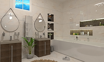 ابرهيم Modern Bathroom Ahmed homestyle