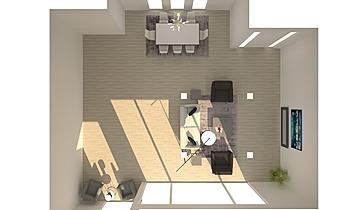 Bosa & Doorn Great Room Contemporary Living room Flavia Tafner