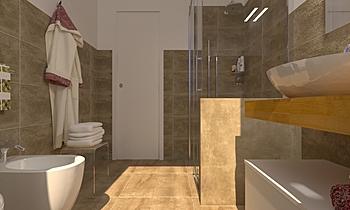 PROGETTO BAGNO SUPERIORE Classic Bathroom Viviana Pusceddu