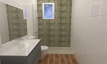 Baño Carolina1 Classic Bathroom Malen Barrera