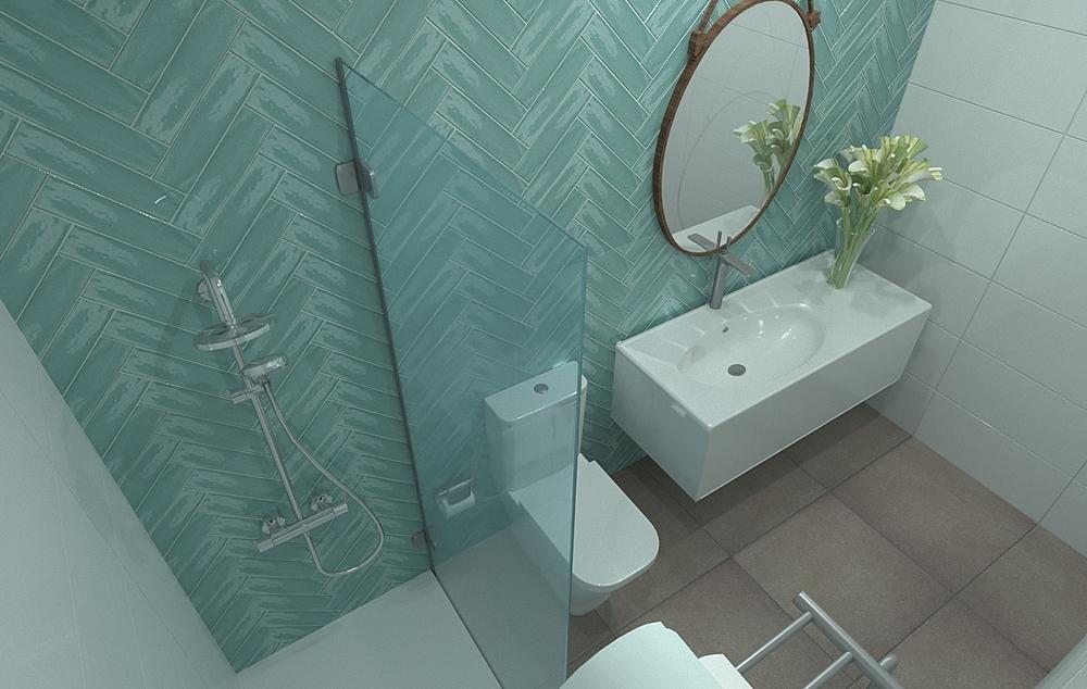 baño Estela Contemporary Bathroom gonzalo y mariano  soler