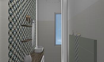 BAGNO 1 SELLIA MARINA Classic Bathroom Bruno Raffaele