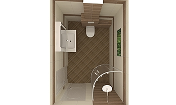 Mozambik Classic Bathroom Keraton Ob