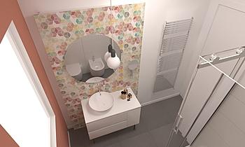 bagno tipo Modern Banyo Aiello Ceramiche