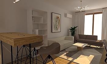 Kitchen To Classic Living room Iliana Ovtcharova