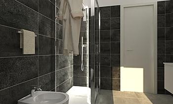 progetto bagno Klassiker Badezimmer Viviana Pusceddu