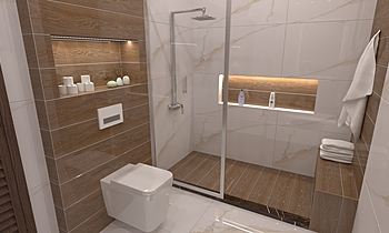 UM SF BT Modern Bathroom OBEID GENERAL TRADING