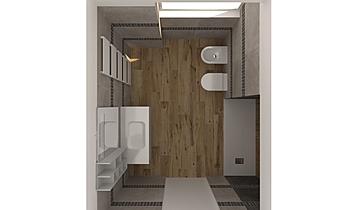 BAGNO primo piano Classic Bathroom Diego Pomare'