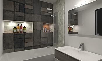 Plaza de la Coronaion Modern Bathroom Intuicion Diseño y Construcción sl