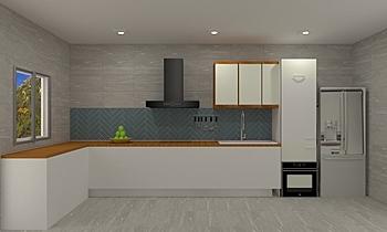 Yen-Kitchen Klasický Kuchyň Feruni Ceramiche Sdn Bhd frspj