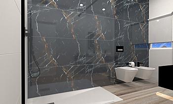 joao paulo cunha wc suite... Classic Bathroom Patrícia Praia