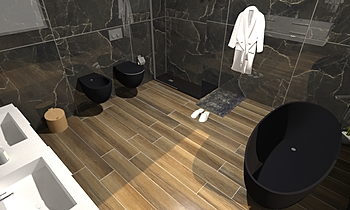 Progetto1 Classic Bathroom Antonio Giannelli