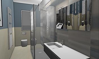 bagno tipo Classic Bathroom Aiello Ceramiche
