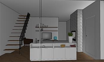 Home Contemporary Living room Davide Saturni