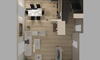 Salloni i djalit Modern Cameră de zi Donart Sahiti