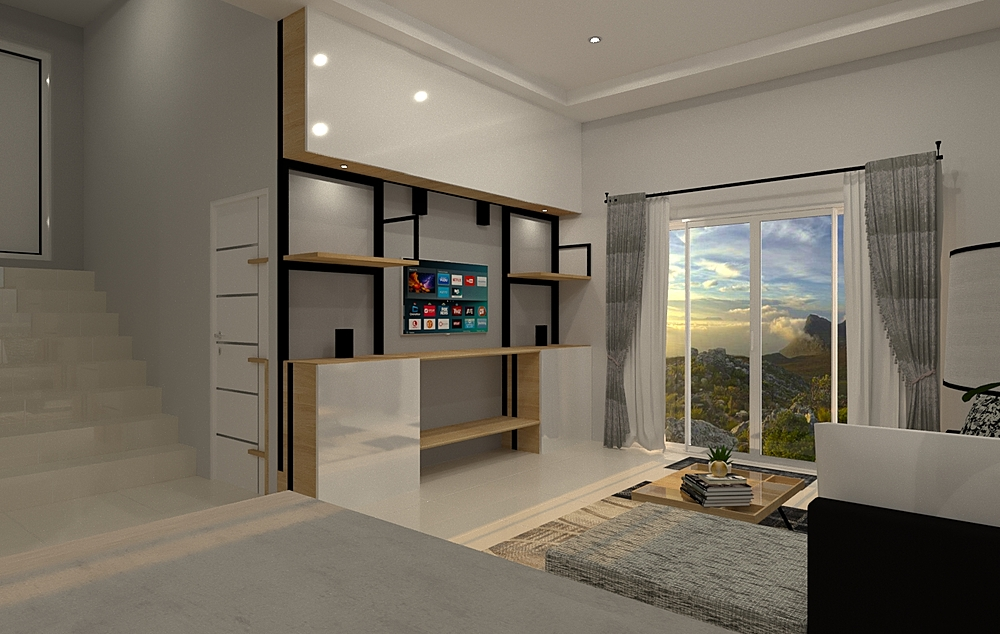 shelf Modern Living room Tikampon  Rattanachanchai