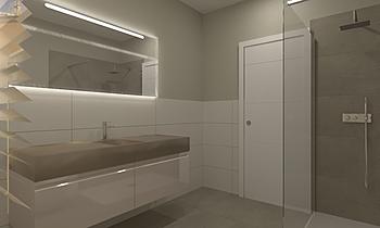Bagno Doccia 140 Contemporary Bathroom  AmbienteBagno  Antichi