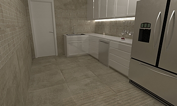 Duran Arena - Duran 30x30... Moderno Cucina Virtual Showroom