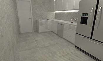 Duran Ceniza - Duran 30x3... Moderno Cucina Virtual Showroom