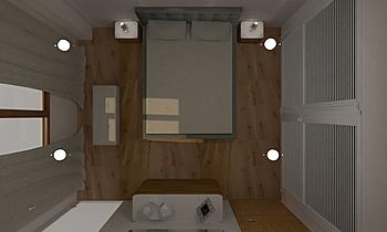 DISEÑO HABITACIÓN PRINCIP... Modern Bedroom María Vázquez Barros