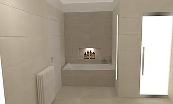 Bagno principale Ragno Te... Classic Bathroom Gianni Moretti