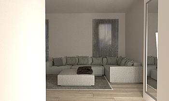 ristrutturazione Classic Living room Luana Cossu