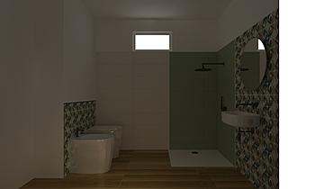 BAGNO PIANO -1 Contemporary Bathroom NIGRELLI E NIGRELLI