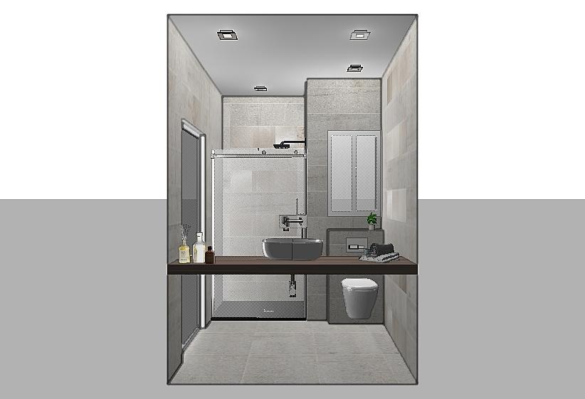 Birkirkara APT - Main Bathroom - Modern - Bathroom - by ...