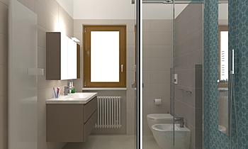 Bagno di servizio Sant'Ag... Classic Bathroom Gianni Moretti