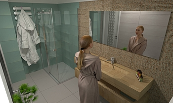 Valeria Modern Bathroom Tre P Ceramiche Team Designer Group