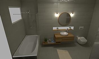 Kupelna Classic Bathroom Lenka Konečna