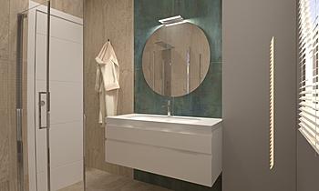 Bagno 1 Contemporary Bathroom  AmbienteBagno  Antichi
